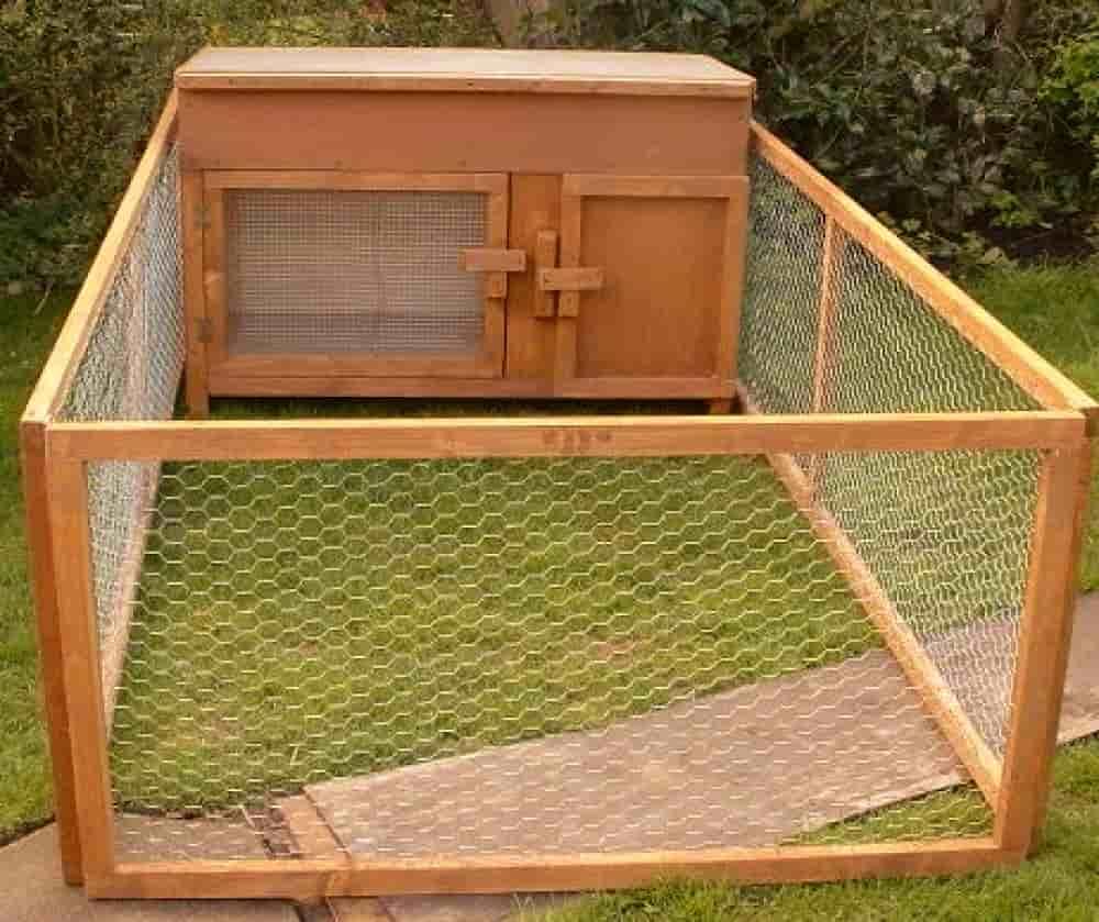 Клетка для крольчихи с потомством
