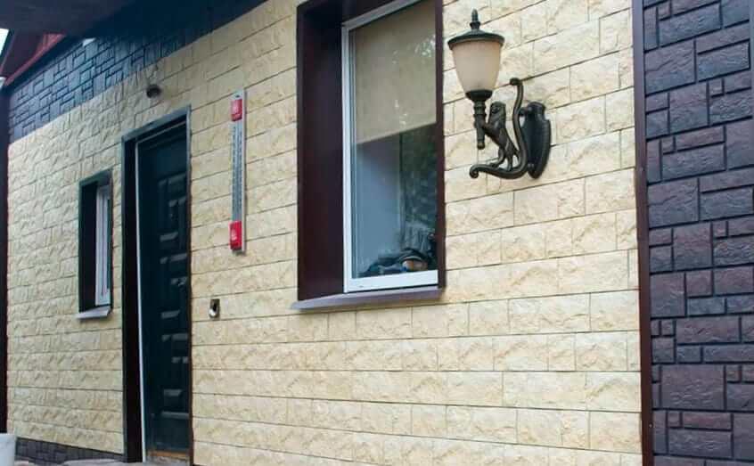 Пластиковые фасадные панели