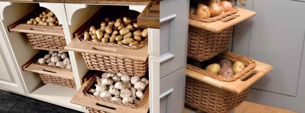 Хранение картофеля в квартире